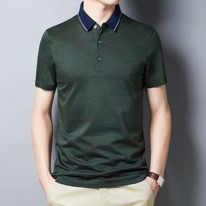 men's trendy short-sleeved t-shirt GDJ